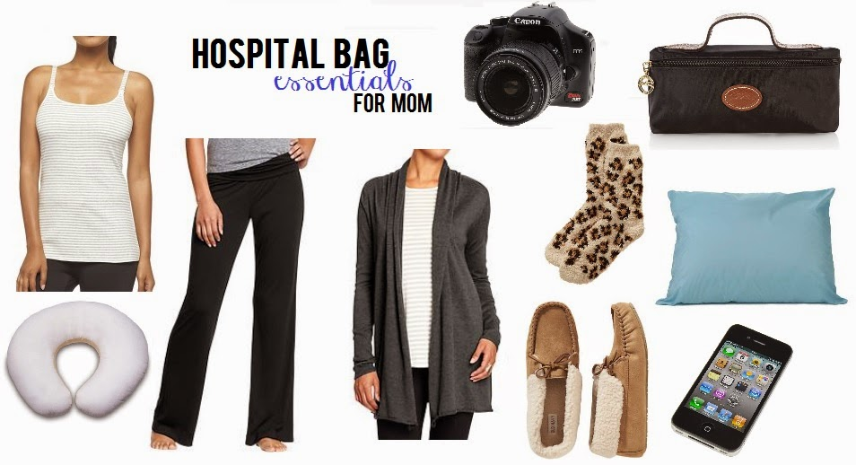 hospital bag essentials for mom