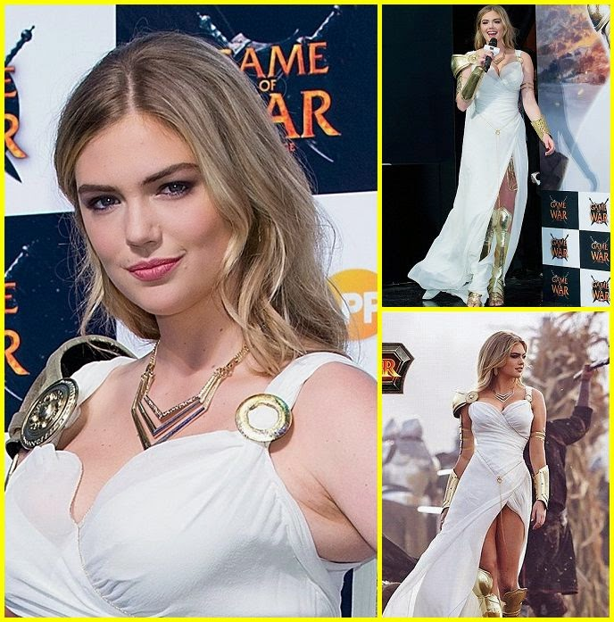 Now, we know all the look was utterly fabulous, cause we're turning to you, Kate Upton's style, for the final verdict on our favorite line. But as much as we love the 22-year-old getting her white long gown vixen on (no doubt with no complaining), there's no denying it this week in terms of Busan fashion. Just take a look at the impossibly gorgeous series of uniform during her job to promote Game Of War: Fire Ages at South Korea on Saturday, November 22, 2014.