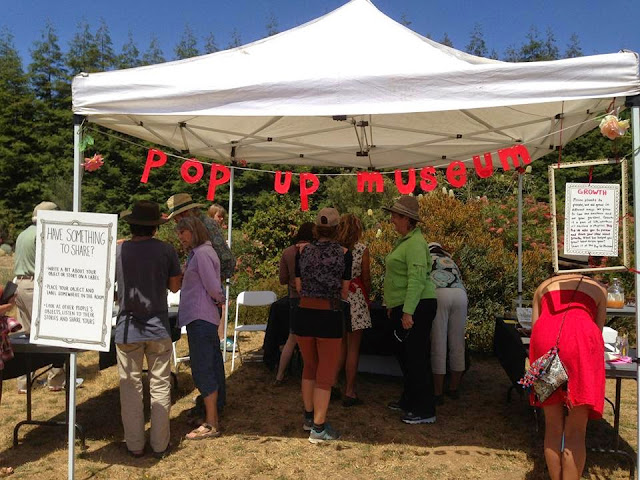 Pop Up Museum; Chinatown is in the Heart; Santa Cruz Museum of Art & History Pop Up Museum