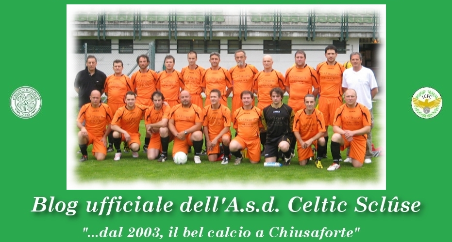 Blog ufficiale A.s.d. Celtic Sclûse