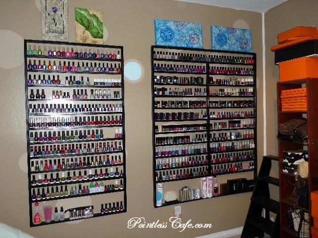 nail polish storage finis pointless cafe. Black Bedroom Furniture Sets. Home Design Ideas
