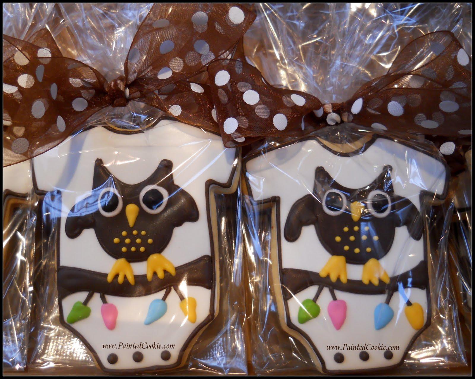 owl themed baby shower favor