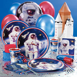 astronaut birthday party supplies - photo #11