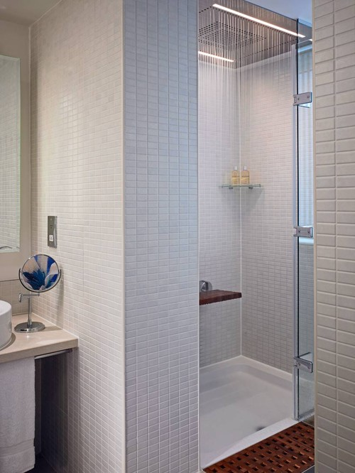 trend homes modern shower ideas