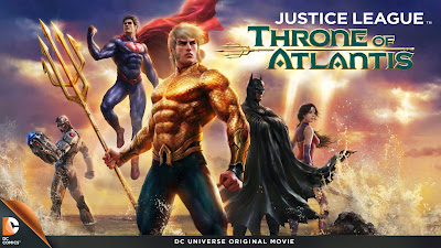 Justice League : Throne of Atlantis 2015