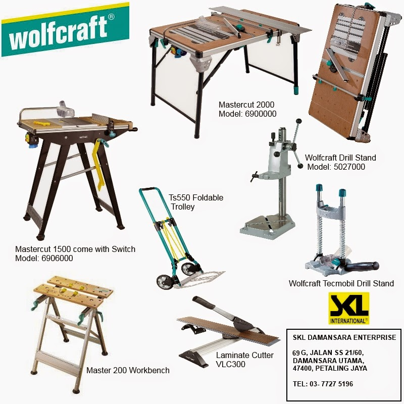 Wolfcraft Workbench now available at SKL Damansara Outlet