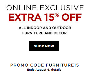 Home Decorators Coupon 15 Off