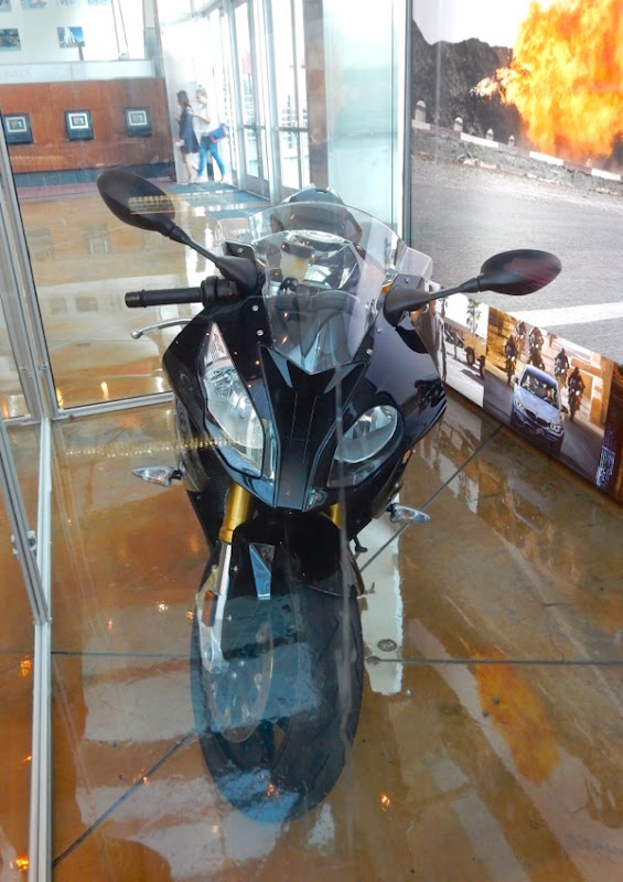 Mission Impossible Rogue Nation movie motorbike