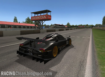 Mid-Ohio Sports Car Course - Lexington Ohio - Coming to RaceRoom Racing Experience (Pagani Zonda on start finish straight)