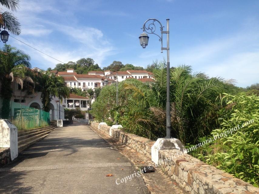 villa marina resort pulau besar