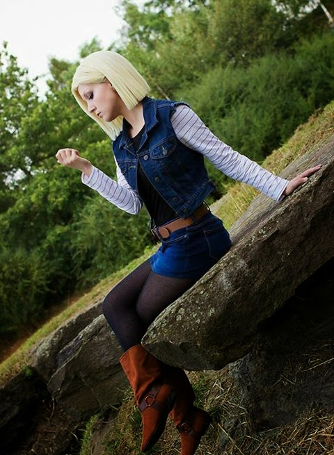 cosplay androide 18