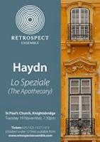 Haydn - Lo Speziale poster