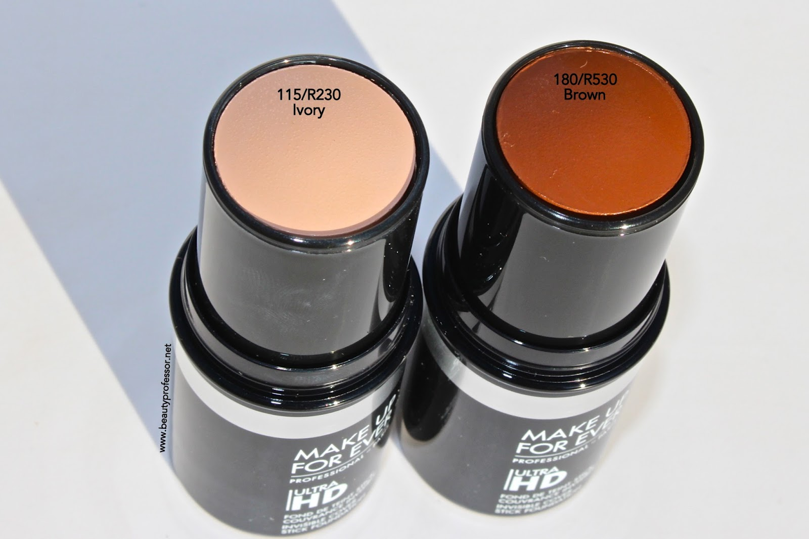 Makeup forever ultra hd foundation swatches
