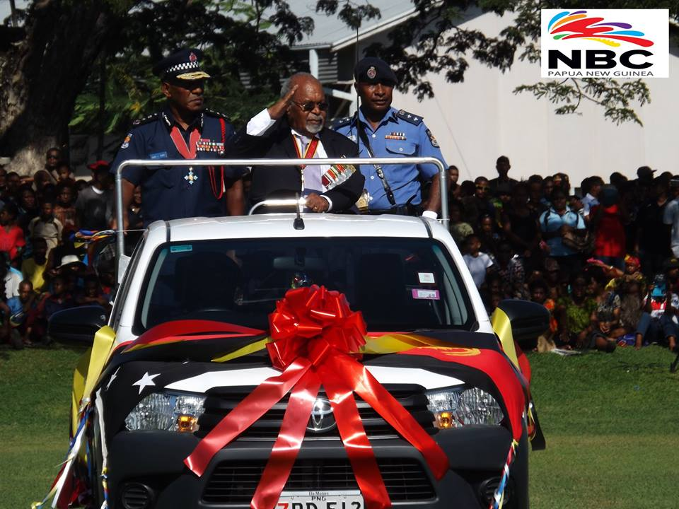 Png Police Farewell Sir Michael Somare Papua New Guinea Today