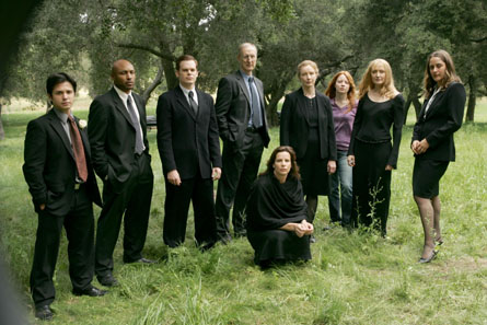 Six Feet Under Cast At Home The Graveyard
