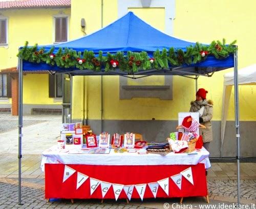 Bancarella Ideekiare mercatino di Natale