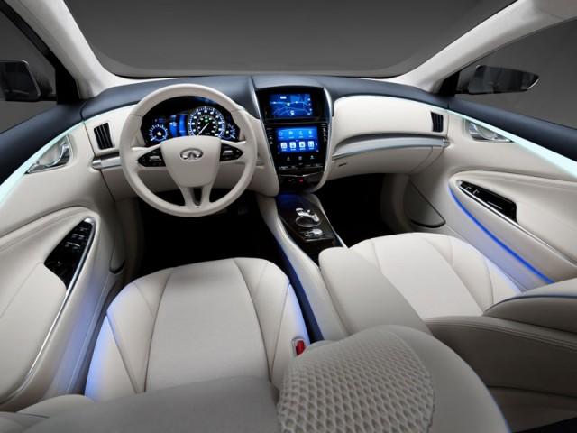 Infiniti LE Concept 2014 interior