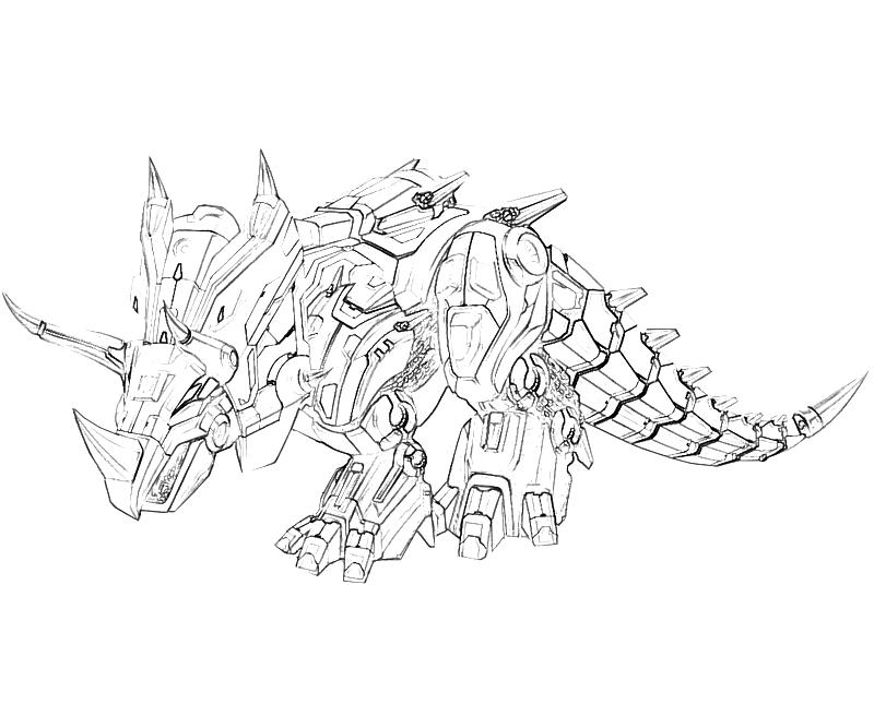 Printable Transformers Fall of Cybertron Slag Art Coloring Pages title=