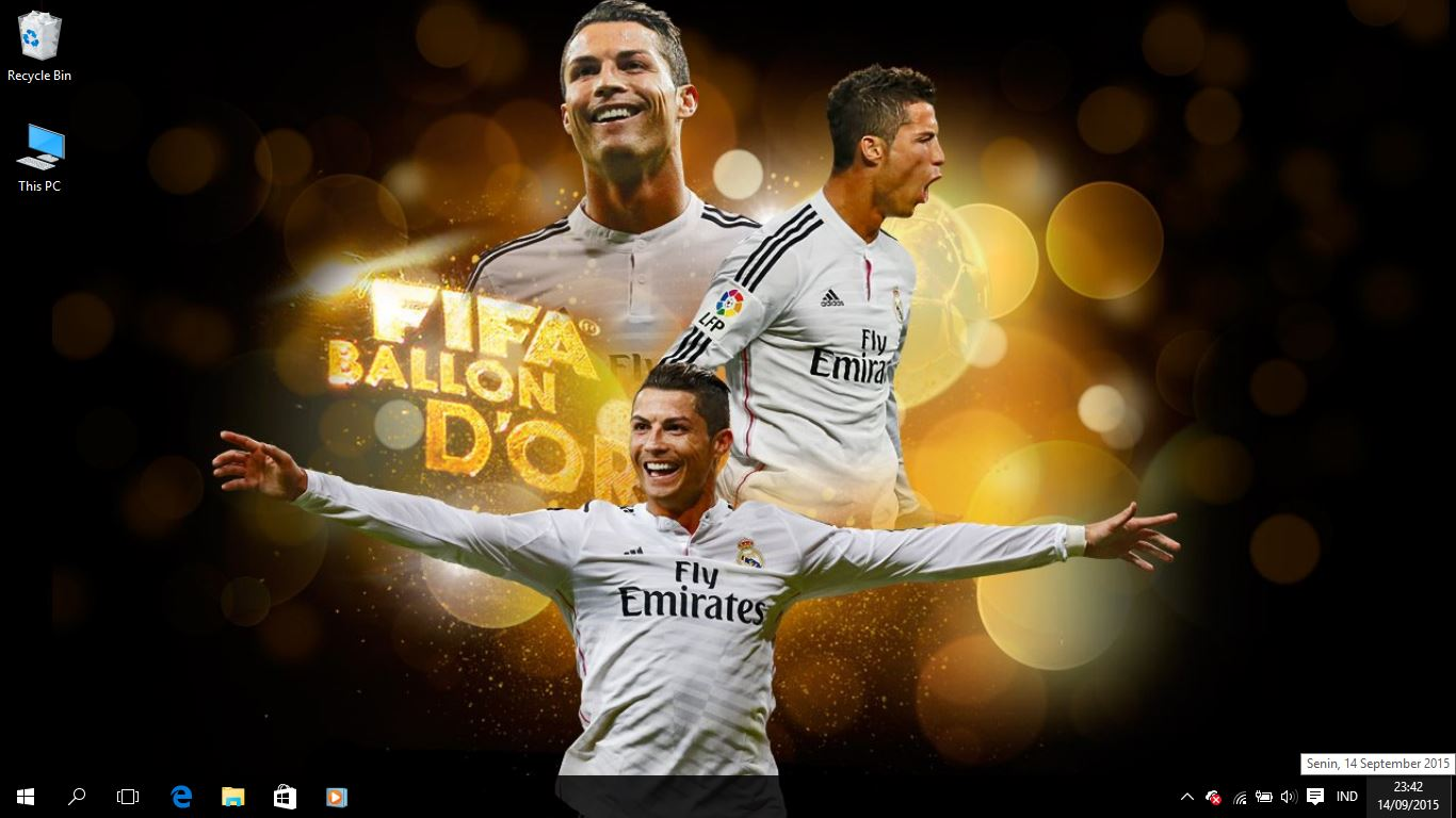 Real Madrid FC 2015 Theme for Windows 7, 8 and 10  Save