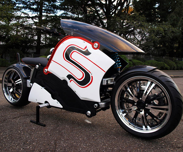 Zecco electric motorcycle side 1