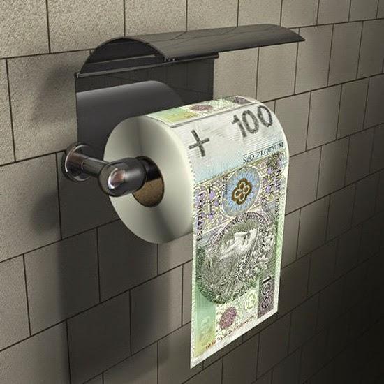 papier toaletowy 100 zł