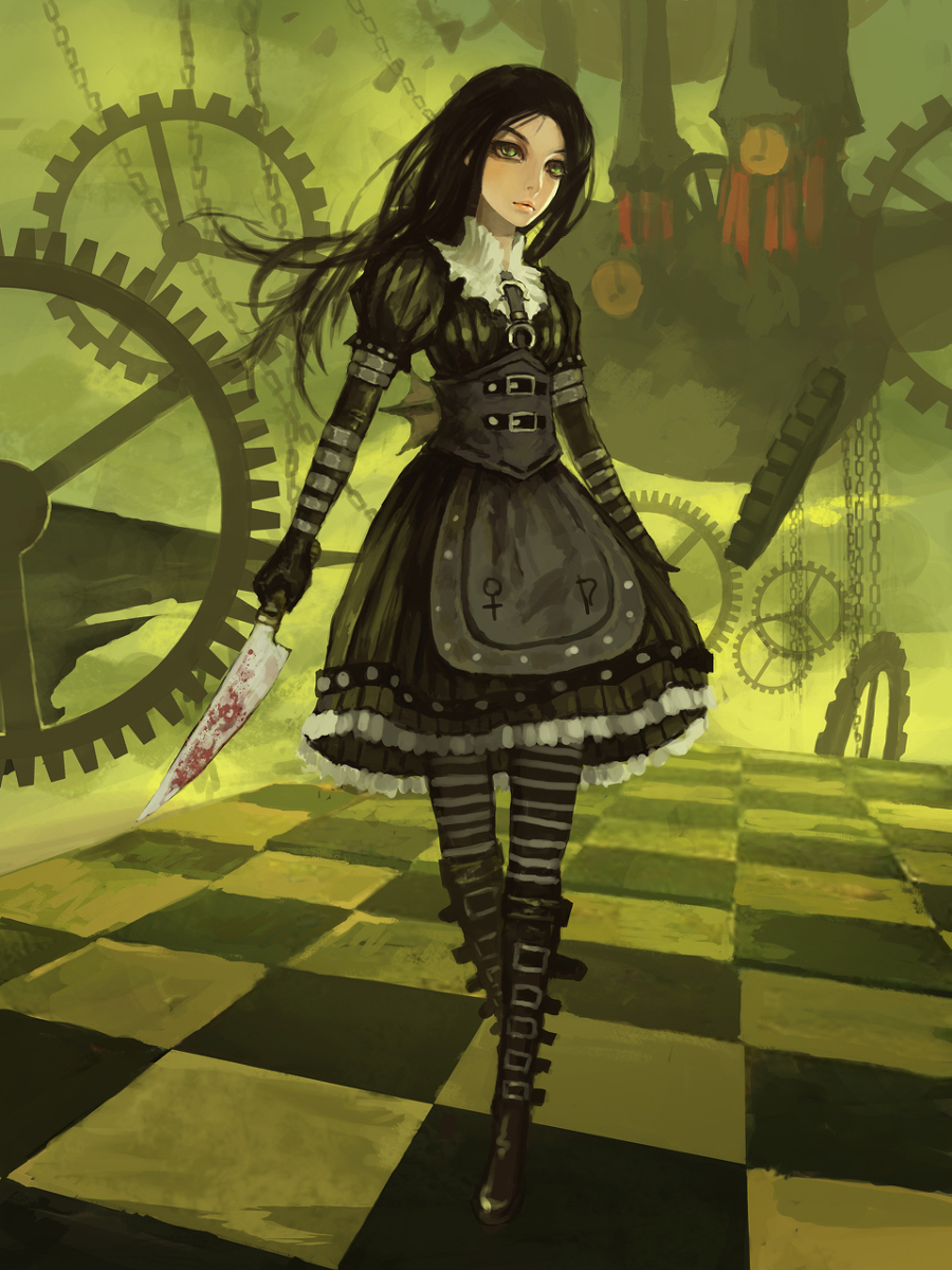 DARKNESS ETERNAL: ALiCe MadNeSs RetURn,ThiS Game ARE UniQUe
