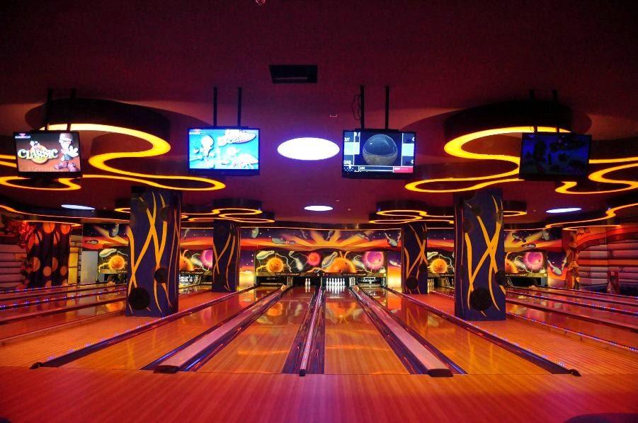 Sân chơi Bowling - chung cư Royal City