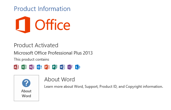 change product key microsoft office professional plus 2013