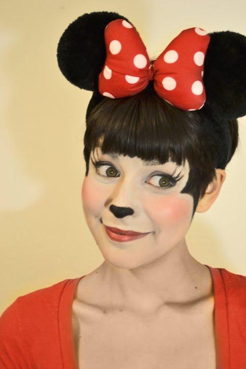 Maquillaje Minnie Imagui