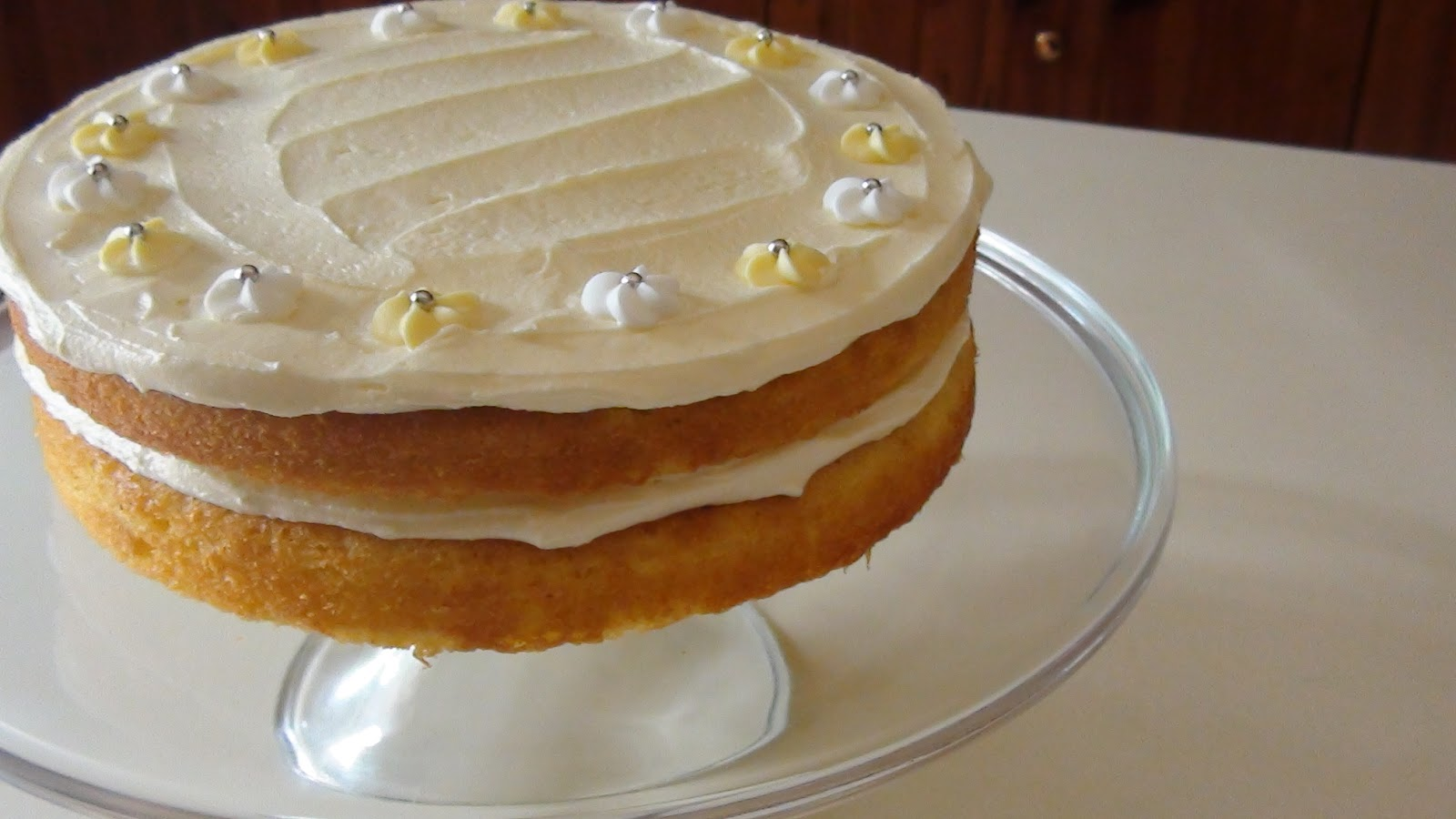 morish: Lemon Layer Cake