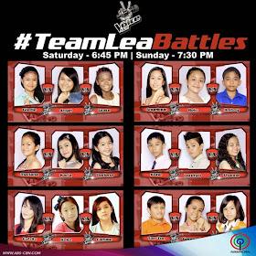Team Lea Battles