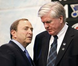 Inside Gary Bettman's Playoff Pool Draft (humor)