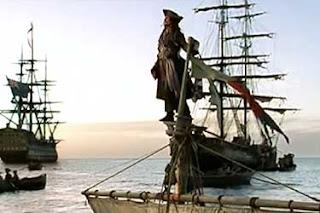 Capitão Jack Sparrow - Piratas do Caribe