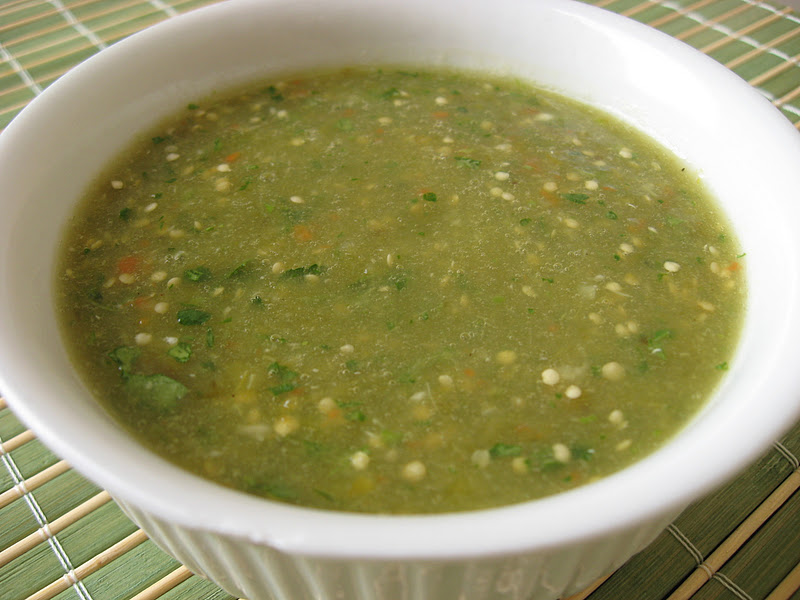 Morsels and Musings: chilaquiles & salsa verde