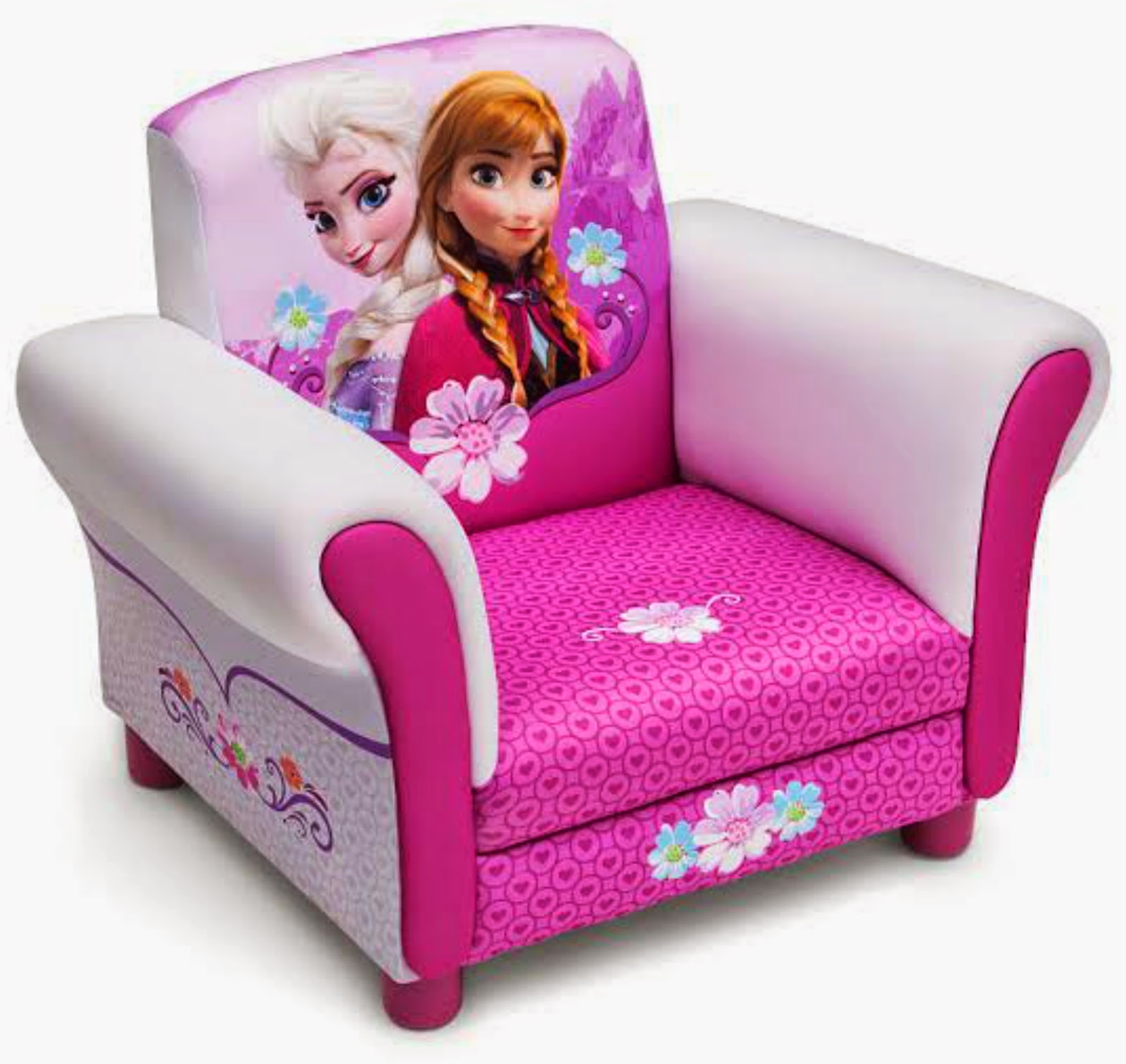 Disneyu0027s Frozen Upholstered Chair A cool chair fit for a (snow) queen this Frozen Upholstered Chair from Delta Children will cast a stylish spell on your ...  sc 1 st  Sparkle Me Pink & Sparkle Me Pink: FROZEN Canopy Bed u0026 Chair GIVEAWAY ! Ends 12/20