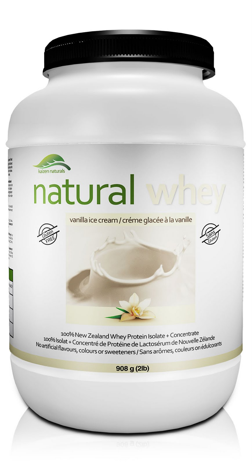 Kaizen Naturals Vanilla Whey Protein Isolate Review