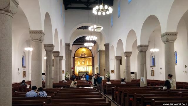 Interior de la Catedral Anglicana de Seúl
