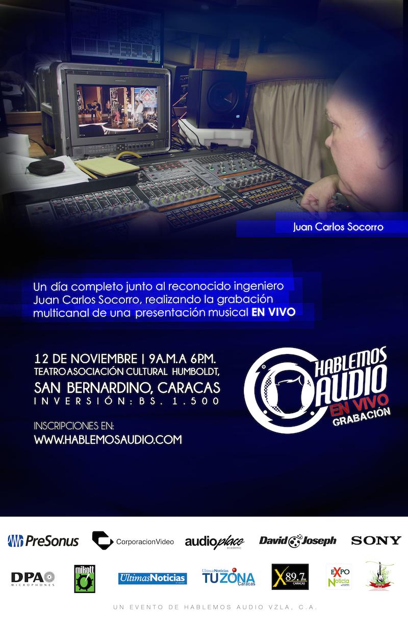 Hablemos Audio EN VIVO - Grabación