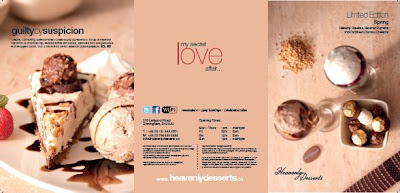 Heavenly Desserts Birmingham Menu