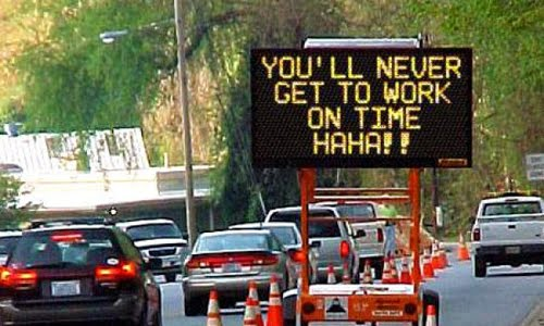 funny traffic joke