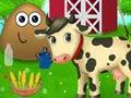 Jugar a Pou en la granja