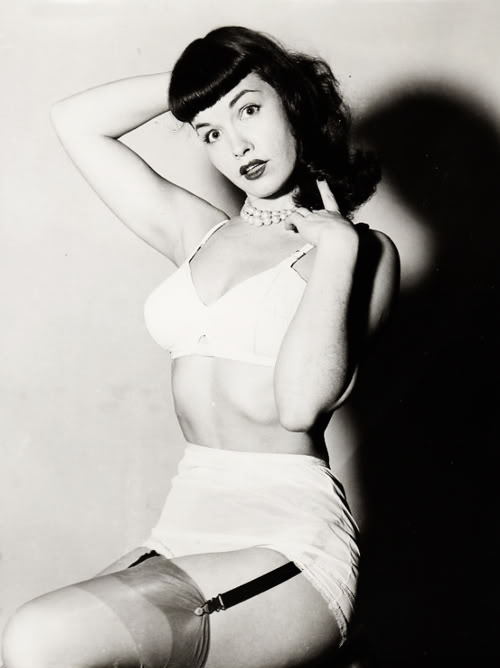 Betty Page Nude Photos 19