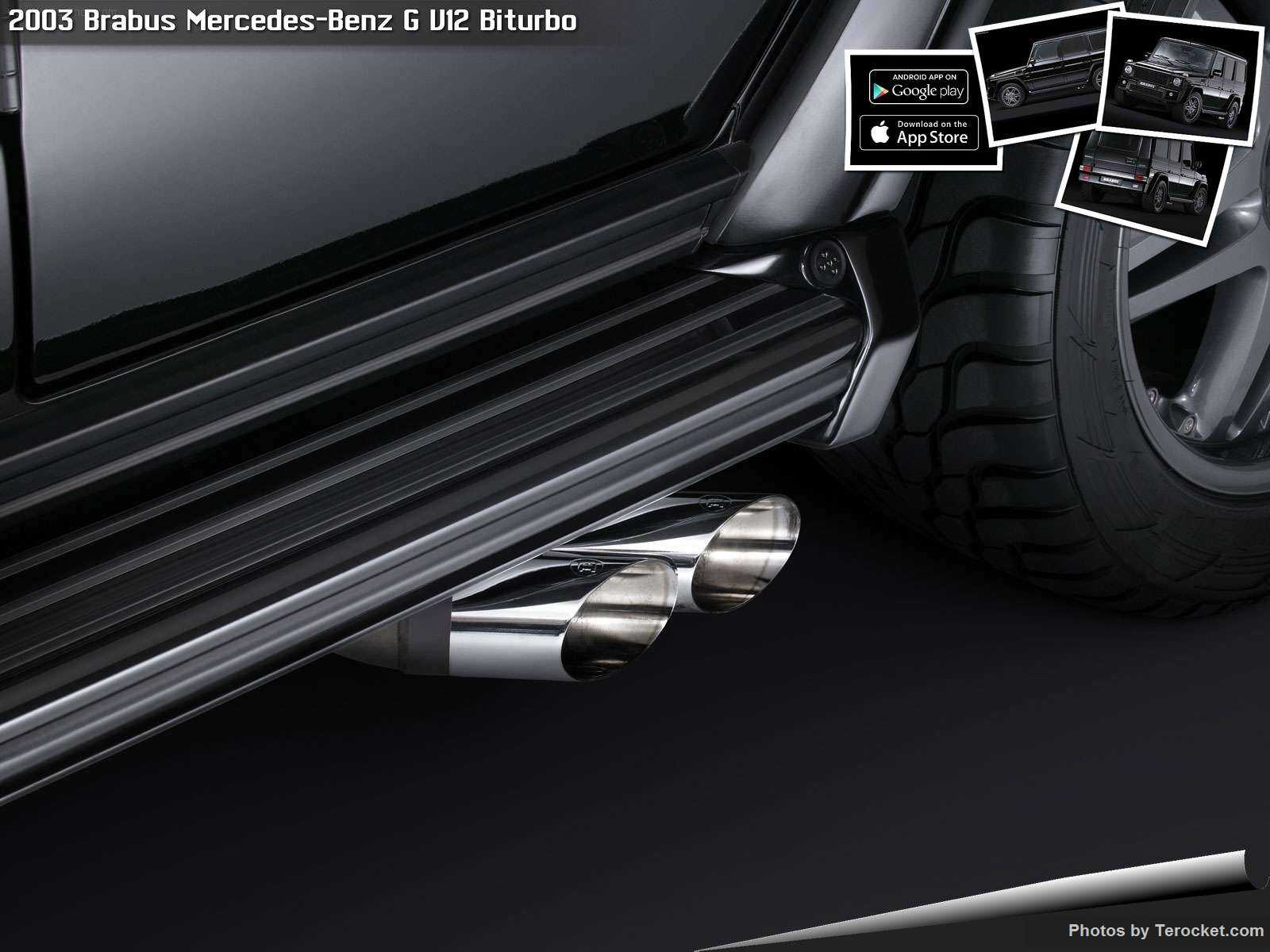 Hình ảnh xe ô tô Brabus Mercedes-Benz G-Class 2003 & nội ngoại thất