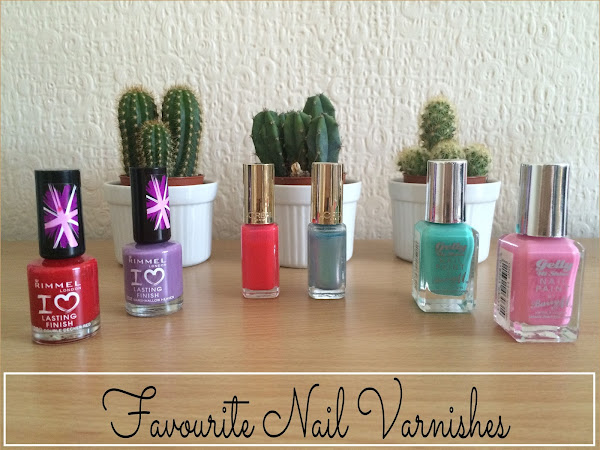 Favourite Nail Varnishes