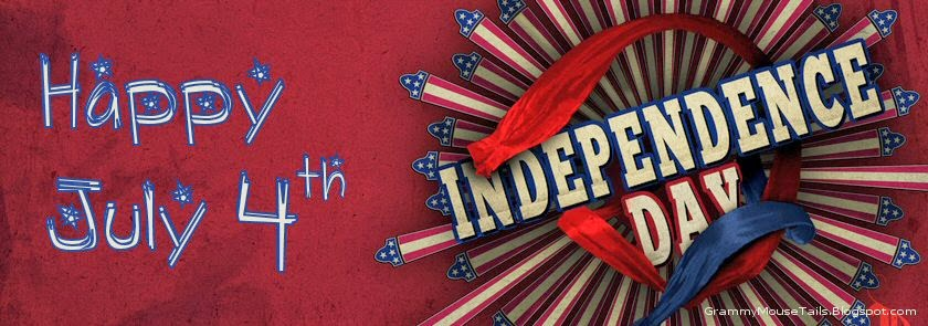 happy 4th patriotic independence day bar image