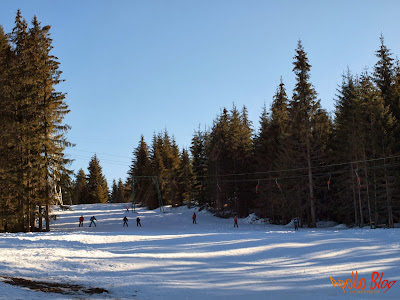 Partie de Schi la Pasul Bucin