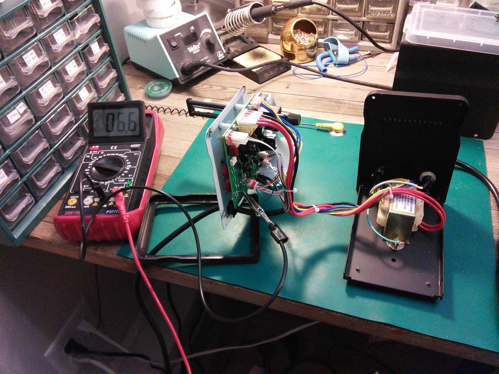 Dangerous Wiring Fault: 858D Hot Air Rework Station | William Osman