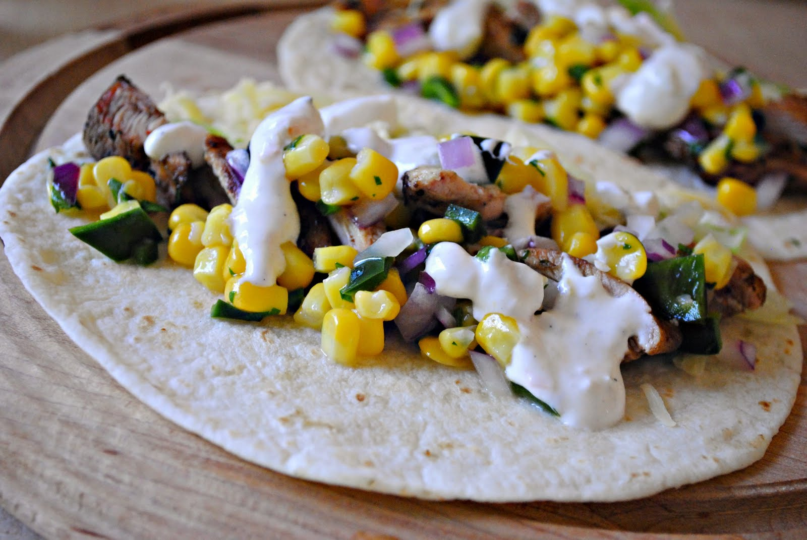 Simply Scratch » Tasty Grilled Chicken Tacos