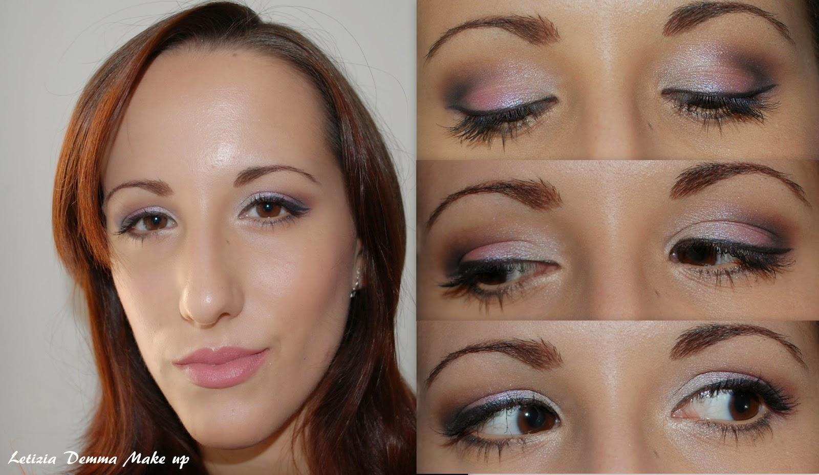 Estremamente MakeupLetizia: Make up Tutorial rosato TJ32
