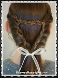 Recent Favorite Hairstyle Tutorial - Triangle Braid